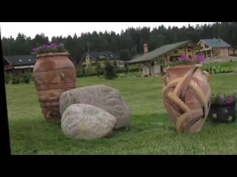 Смотреть Дизан сада  Интересные идеи как использовать кувшин в дизайне сада