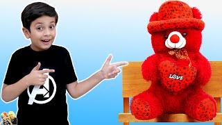 AAYU KA TEDDY BEAR | Short Movie | Cricket with Mom | Aayu and Pihu Show