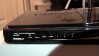 Trendnet Wireless Router Tutorial