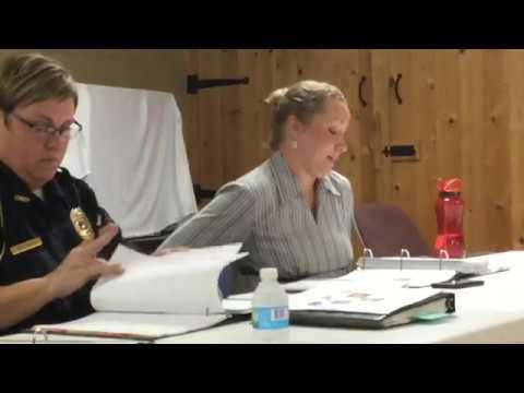 New Concord Village Council | Oct 9, 2017