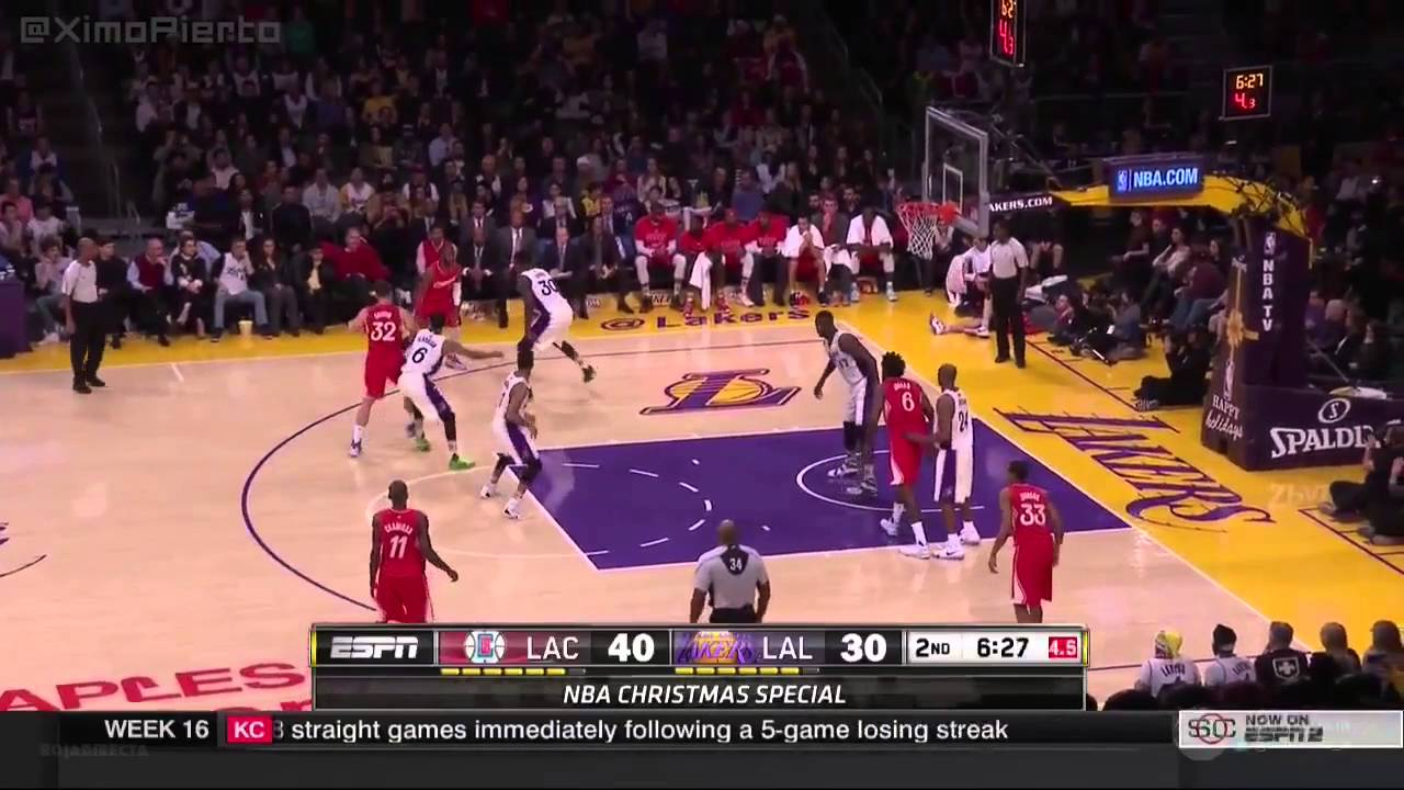 LA Clippers vs LA Lakers (Full Game Highlights) ☆(Christmas Day ...