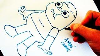 Como Desenhar Clarêncio, o Otimista - (How to Draw Clarence) - SLAY DESENHOS #101