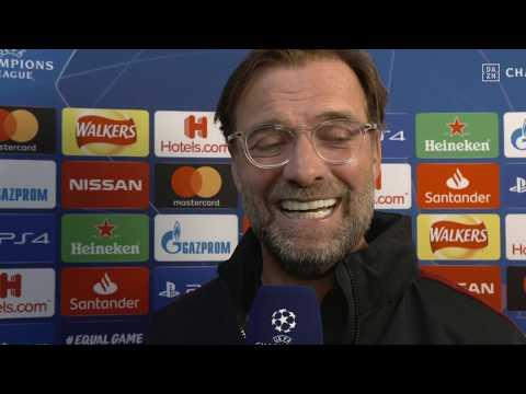 Jürgen Klopp im DAZN Interview vor Liverpool vs Bayern München