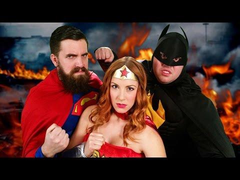 Batman v Superman: Dawn of Justice Parody