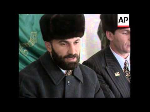 CHECHNYA: ASLAN MASKHADOV WINS PRESIDENTIAL ELECTIONS