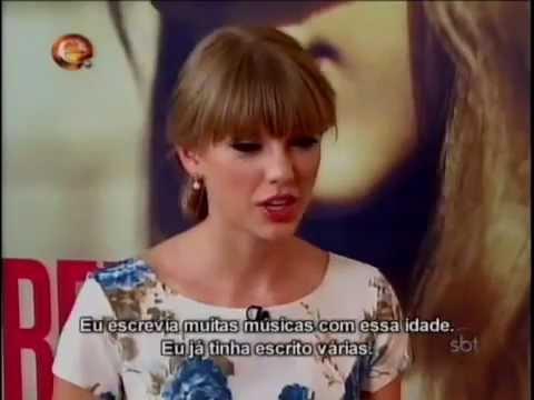 Eliana entrevista Taylor Swift e Paula Fernandes - 28/10/2012 - Parte 1