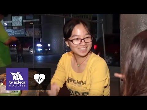 De China a Monterrey: ganarse la vida vendiendo dulces