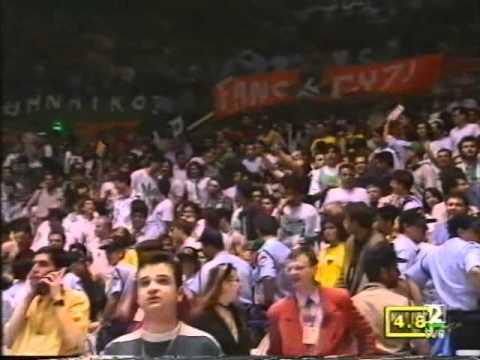 Joventut Campeón de Europa 1994 - Últimos minutos + Celebración