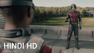 Ant-Man vs Falcon | Fight Scene | Ant- Man Movie Clip in Hindi HD