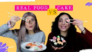 Cake VS Real Food #3 | fraoules22