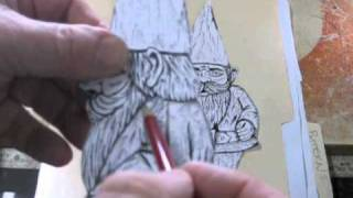 Wood Carving A Gnome Part 1