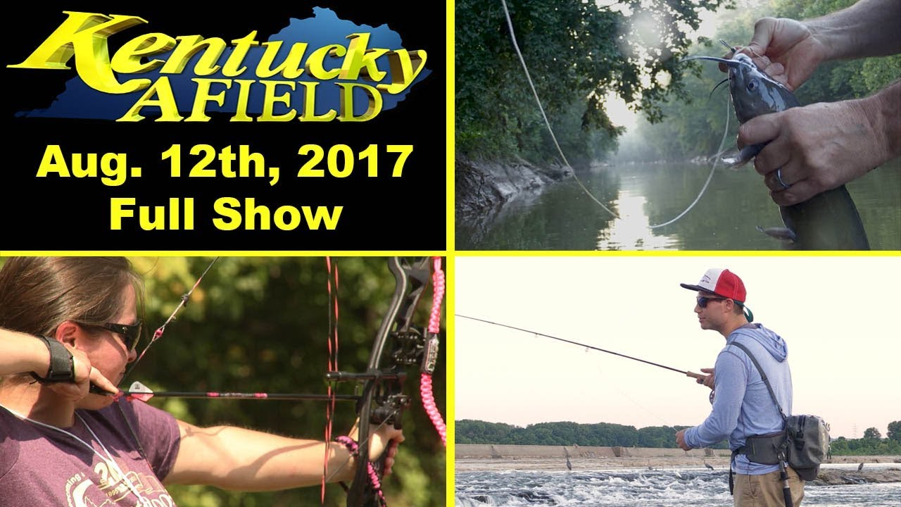 August 12th 2017 full show salt river limb lines fly for Ohio fishing expo