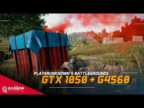 Teste Battlegrounds (PUBG) GeForce GTX 1050 + PENTIUM G4560 | 60FPS 1080P FULL HD