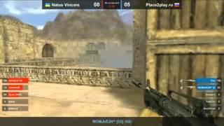 Na`Vi vs Place2play - Round 2 - De_Dust2 (Show-Match cs 1.6)(14.09.12 - Шоу-матч между командами Na`Vi (Ukraine) и Place2play (Russia) Это запись только второго раунда,первый раунд смотрел..., 2012-09-15T11:07:49.000Z)