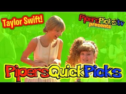 PIPER GETS AN INTERVIEW WITH TAYLOR SWIFT Plus Danny DeVito and Rhea Perlman!