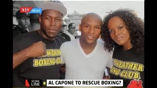 Meet Douglas Okola, Kenyan who is Floyd Mayweather's sparring partner | #KTNScoreline