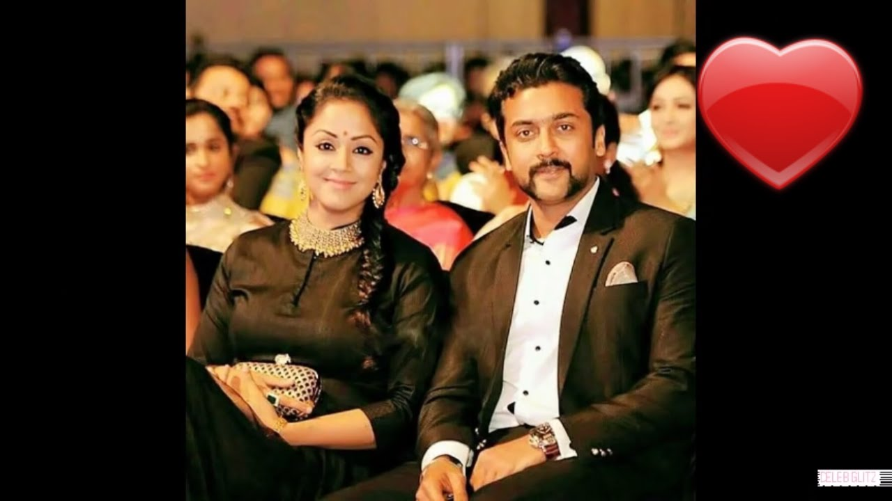 Surya jyothika familysurya and jyothika rare images youtube thecheapjerseys Image collections