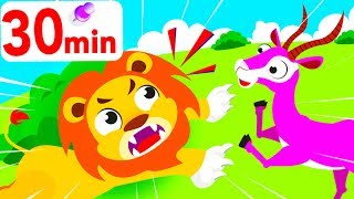 Down In the Savannah Again,  Dumbo Elephant, Little Roaring Lion Song, Compilation by Little Angel