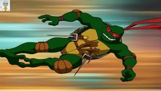 TMNT Teenage Mutant Ninja Turtles PS2 Playstaion 2 Konami Gameplay Stage 6 area 1