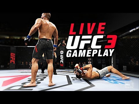 EA Sports UFC 3 BETA ULTIMATE TEAM LIVE GAMEPLAY STREAM!