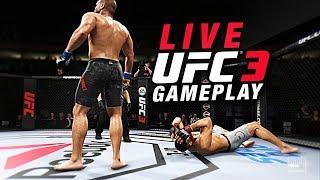 EA Sports UFC 3 BETA ULTIMATE TEAM LIVE GAMEPLAY STREAM!