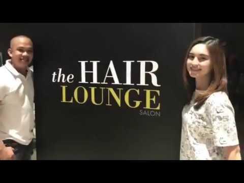 Coleen Garcia At The Hair Lounge Salon, Manila