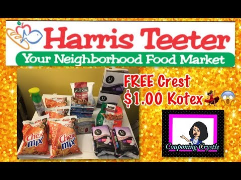 Harris Teeter Super Double all week FREE crest😆