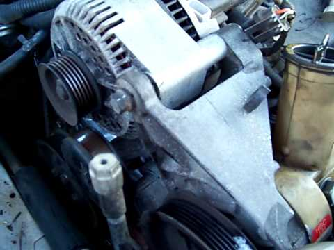 1998 Ford Taurus Water Pump Replacement Part 5 - YouTube