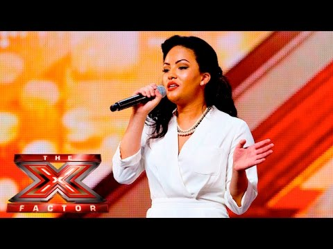 Stephanie McCourt brings the sass with Summertime | Auditions Week 2 |  The X Factor UK 2015