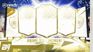 I PACKED 3 ICON MOMENTS! | FIFA 20 ULTIMATE TEAM
