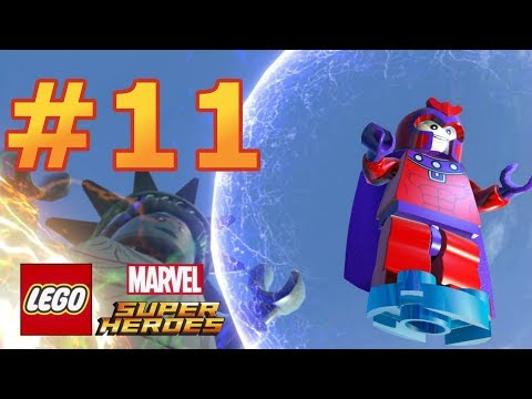 LEGO Marvel Super Heroes - Walkthrough - Level 11: Taking Liberties