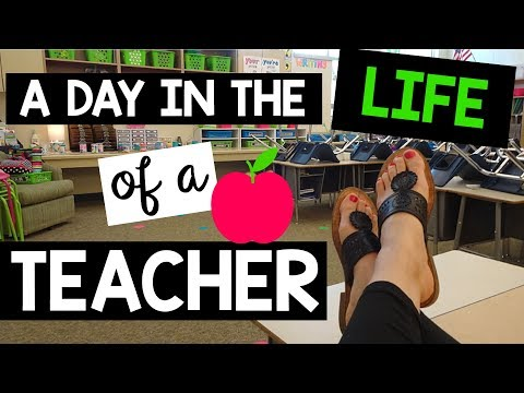 A DAY IN THE LIFE OF A 2ND GRADE TEACHER  A Classroom Diva