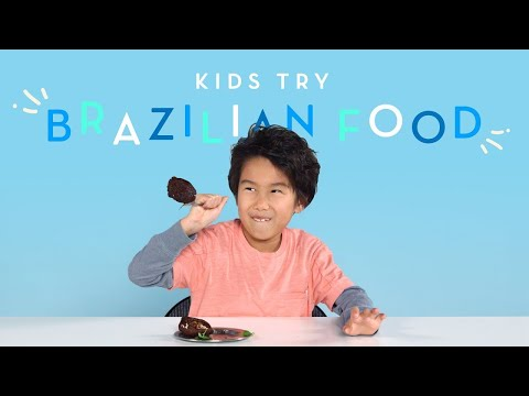 Kids Try Brazilian Food | Kids Try | HiHo Kids