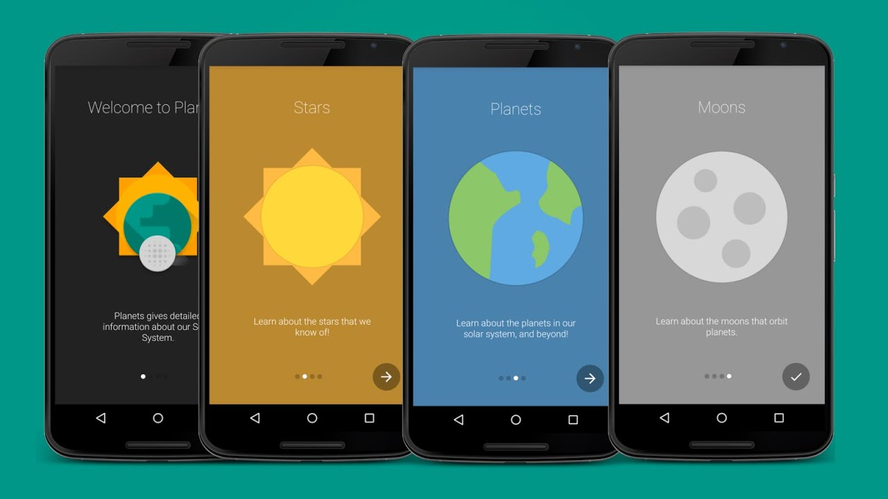 Design Intro Slider/Walkthrough in Android(1/3) - YouTube