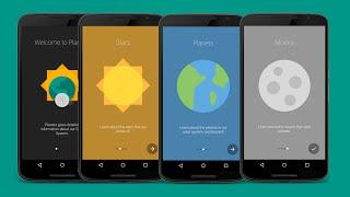 Design Intro Slider/Walkthrough in Android(1/3)