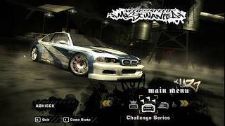 Need for Speed Most Wanted I Loss This Event