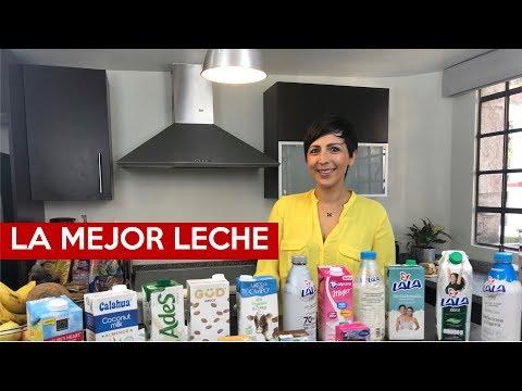 ¿Cuál es la mejor leche?