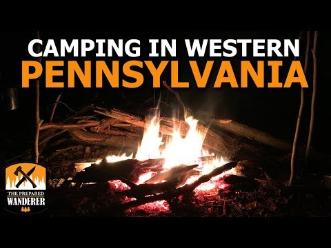 Camping in Western Pennsylvania