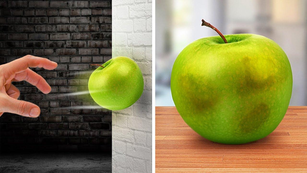 Ударьте яблоко, и оно станет вкуснее || 40 случайных фактов