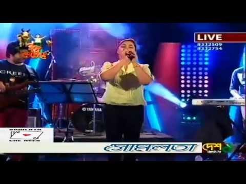 Rabindra sangeet -Tomar khola hawa covered by...