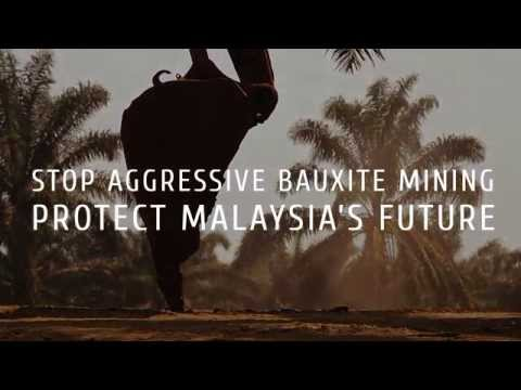 Stop illegal bauxite mining - Malaysia