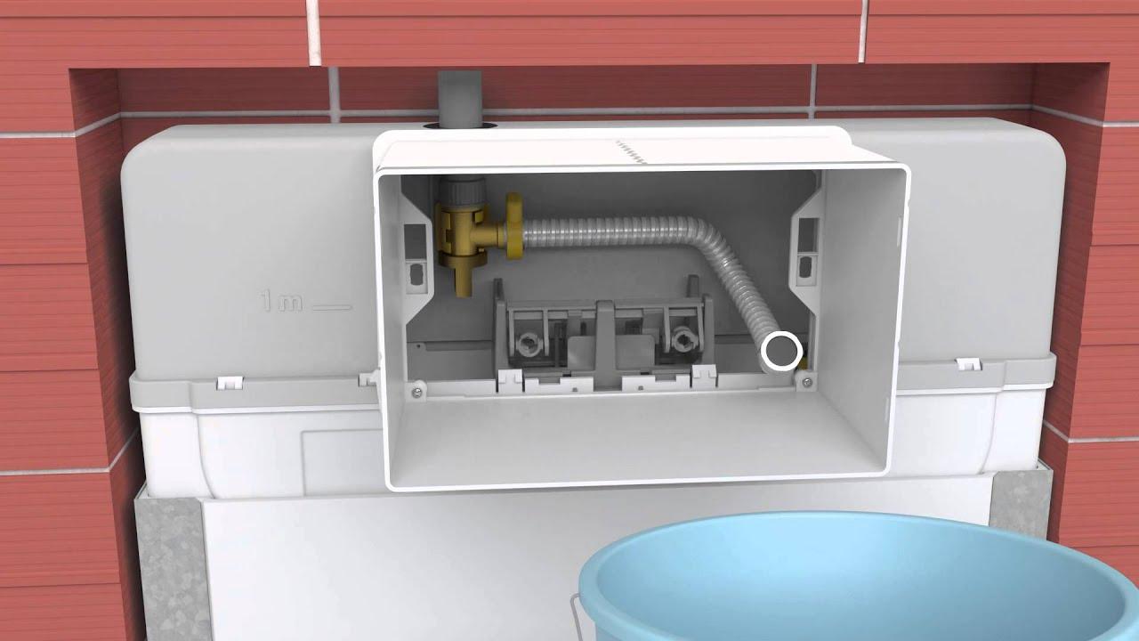 Noken smart line cisterna empotrada para wc suspendido - Cisterna empotrada ...