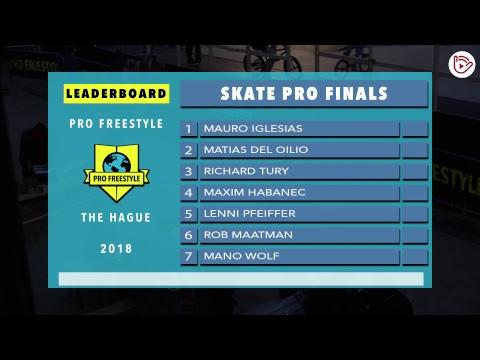 Pro Freestyle The Hague 2018 - International Open Skateboarding Qualification