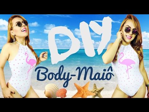 DIY BODY / MAIÔ com LEGGING - FLAMINGO