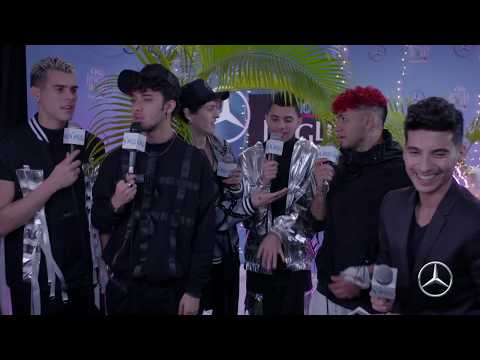 Y100's Jingle Ball - WATCH: CNCO Bares It All With Frankie P...  Or Do They?