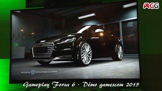 GAMEPLAY with sound - Forza 6  - Démo gamescom 2015 (Audi)