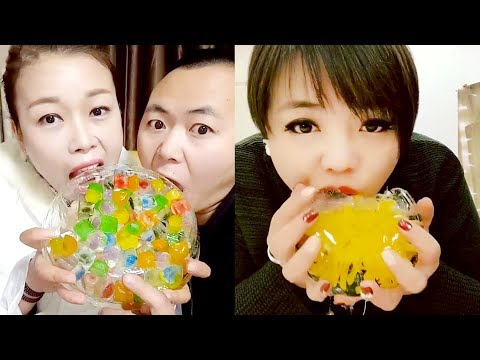 Chinese web goes crazy over eating crunchy ice