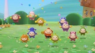 Pushmo World (Wii U) Walkthrough Part 2 - Pushmo Park Stages 10-20 (Level 1 Challenges)