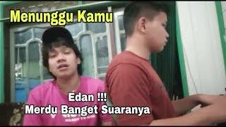 Sumpah Merdu Banget !! Menunggu Kamu - Anji Cover By Arnold feat Abe