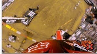 GoPro HD: Myles Richmond MX Step Up Crash Uncut – X Games 2012